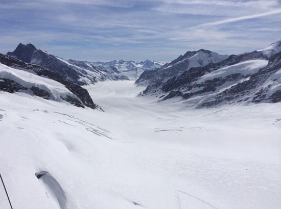 Jungfraujoch : Надо сделать трассу