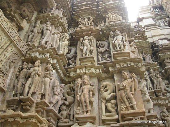 Devi Jagdamba Temple: The Outer walls of Devi Jagadamba Temple