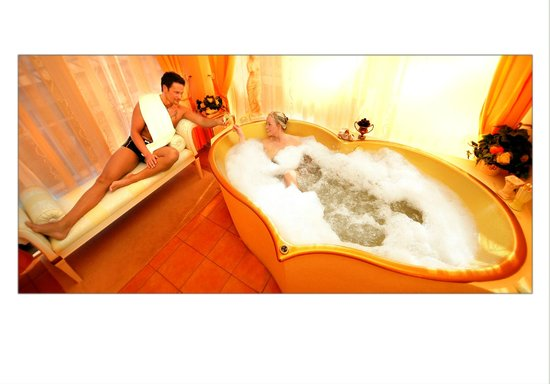 TRIHOTEL am Schweizer Wald: Venusbad in der Private-Spa-Suite