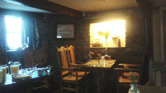 The Dalesman Country Inn: Dining area