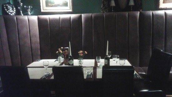 The Dalesman Country Inn: `Private` dining area.