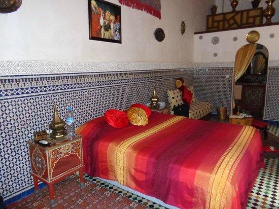 Riad Kettani: Chambre de princesse