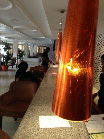 Grand Ibro Hotel: The Reception