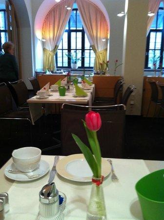 Hotel Victoria : Sala della colazione, curata anche nei dettagli