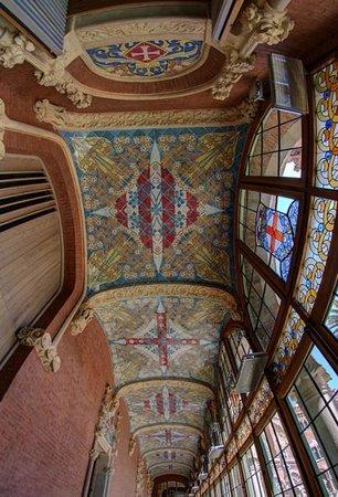Recinto Modernista de Sant Pau (Recinte Modernista de Sant Pau): Pabellón de Administración
