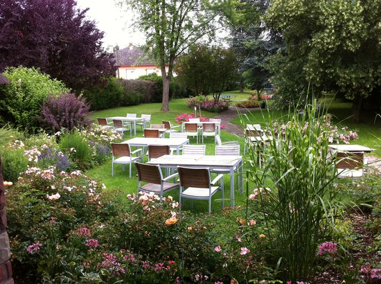 Le Relais du Ried Hotel - Restaurant et Spa : jardin