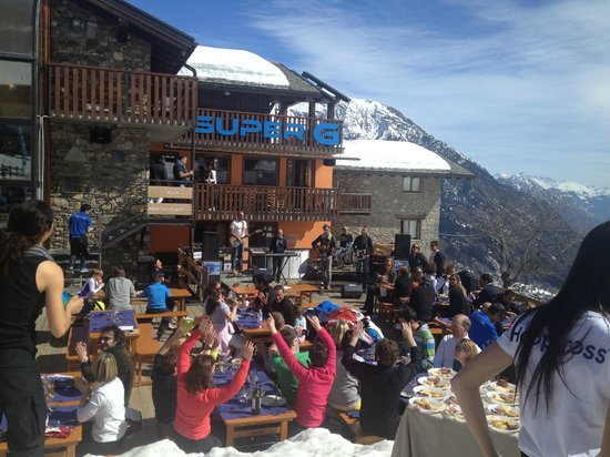 Super G Italian Mountain Lodge: Pranzo al Super G