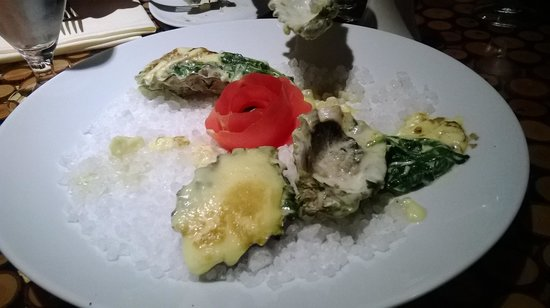 Emerald Queen Hotel & Casino: oysters