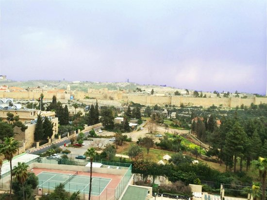 The King David: The view of the old city from my suite - daytime