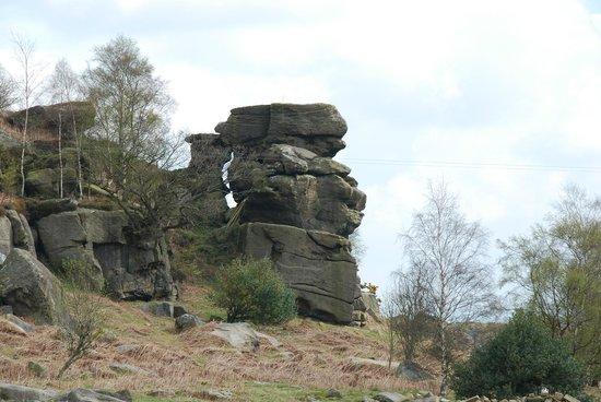 Brimham Rocks Cottages: Brimham Rocks.