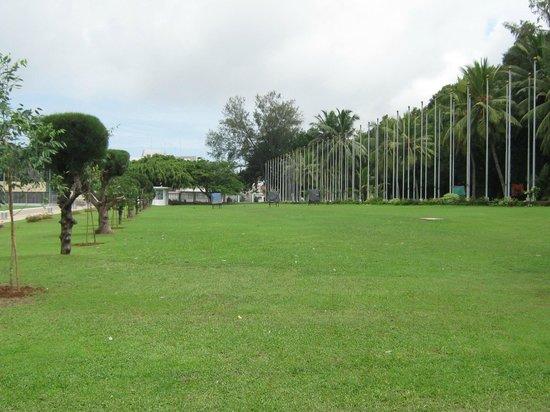 Viharamahadevi Park: the park