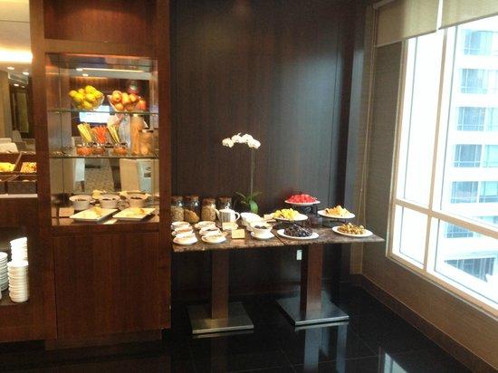 Grand Park City Hall: Crystal Club dining