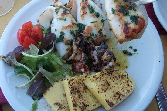 La Palanca : Sepia con polenta