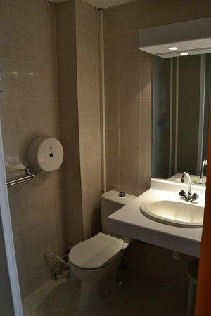 Hotel Saint Gothard: bagno