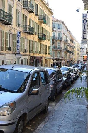 Hotel Saint Gothard: strada
