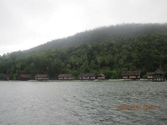 Kri Eco Resort : территория отеля.