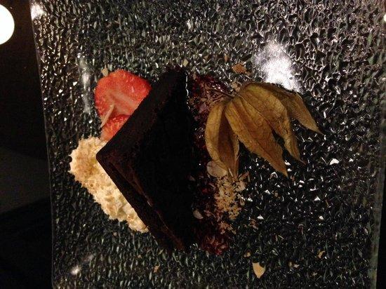 "Hotel Glymur: Dessert "" Chocolate cake"""