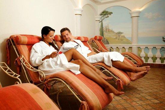 Hotel Seefelderhof: Ruheraum Saunabereich