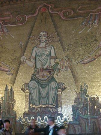 Hôtel de ville : Gold Room Mosaic