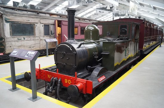 Downpatrick & County Down Railway : loco no 90 in the Gallery