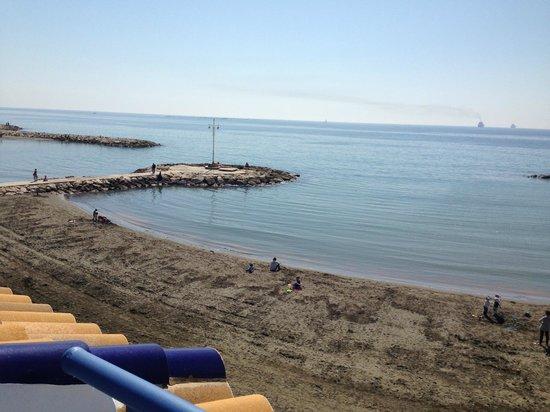 Hotel La Chancla: playa de pedregalejo
