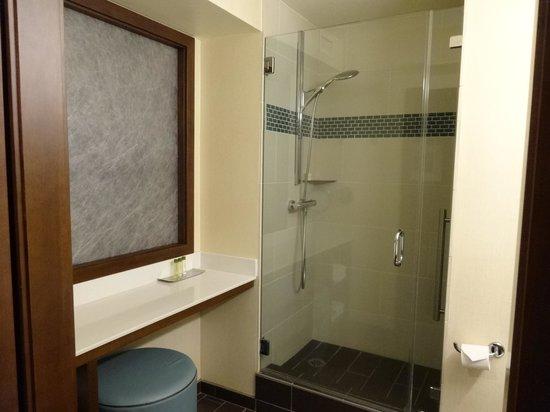 DoubleTree by Hilton Alana - Waikiki Beach: バスルーム、シャワーのみ