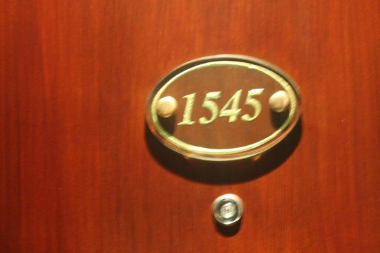 Dusit Thani Manila: Room number