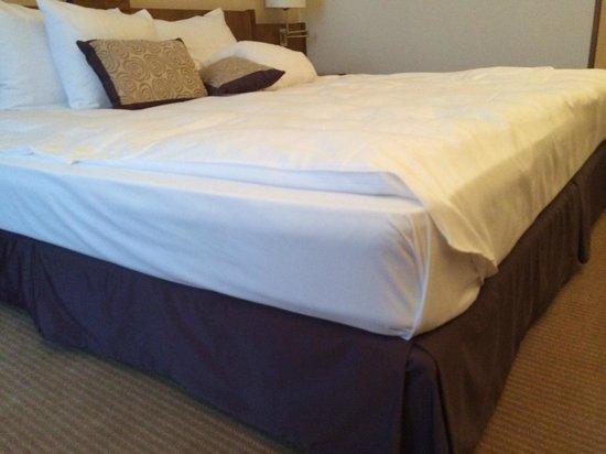 "Corinthia Hotel St. Petersburg: ""Wooden"" mattress"