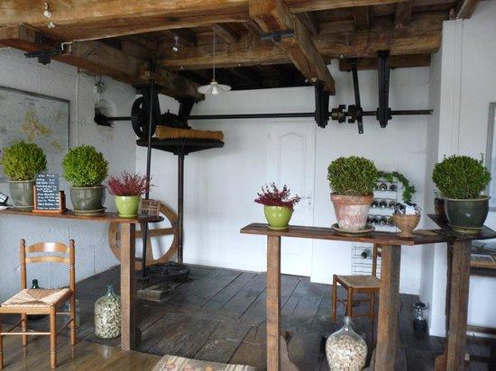 Le Moulin de Poilly-sur-Serein : Machinerie du Moulin