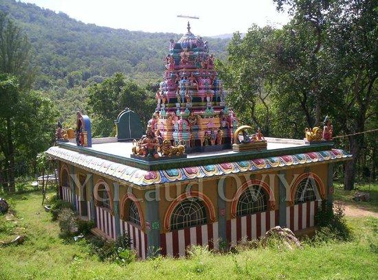 yercaud kariya ramar temple oviya click