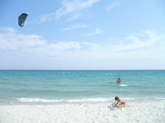 B&B Canarino: kite-surf La Caletta