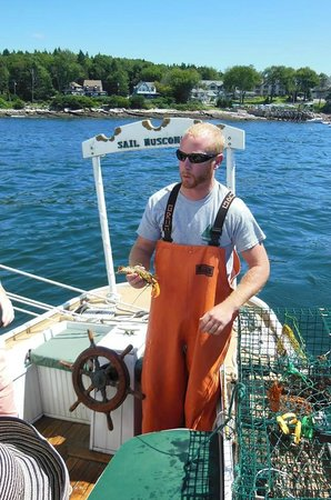 Sail Muscongus Day Tours: Capt. Nate talks lobster!