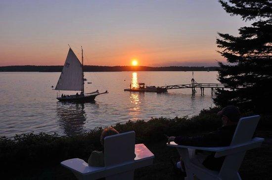 Sail Muscongus Day Tours: Sunset sail!