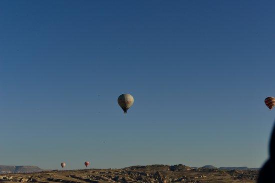 Cappadocia Voyager Balloons: Sessiz güzellik.