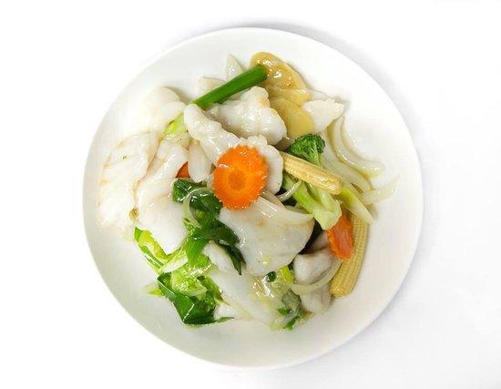 Jade Inn Chinese Restaurant: Wild caught Barramundi with ginger and shallots
