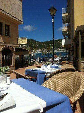 Restaurant Es Portal: Vistas desde la terraza
