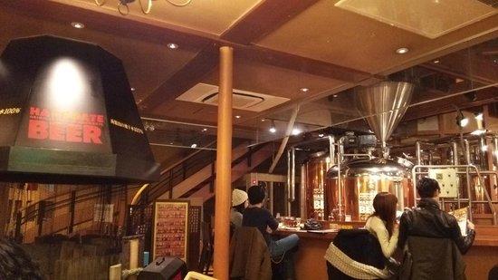 Hakodate Beer : とても立派なビールサーバー