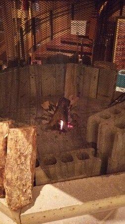Hakodate Beer : 暖炉