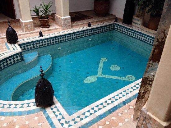 Riad Les Jardins Mandaline: Pool