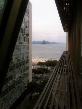 Rio Design Hotel: Vista su Copacabana dal 7piano