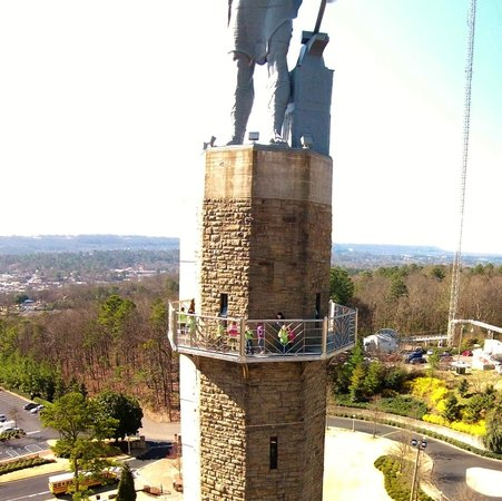 Vulcan Park and Museum: AERIAL VIEW