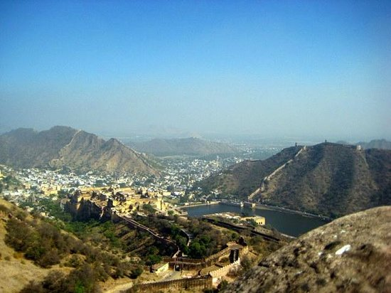 Jaigarh Fort : view of amber