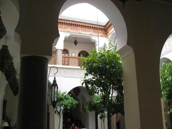 Palais Riad Calipau Marrakech: patio
