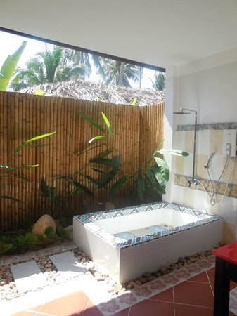 Green Hill Resort & Spa: Ванная бунгало
