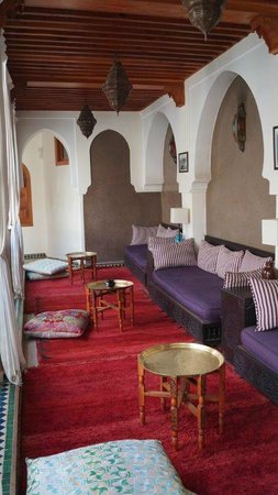 Palais Riad Calipau Marrakech : salon à l'étage