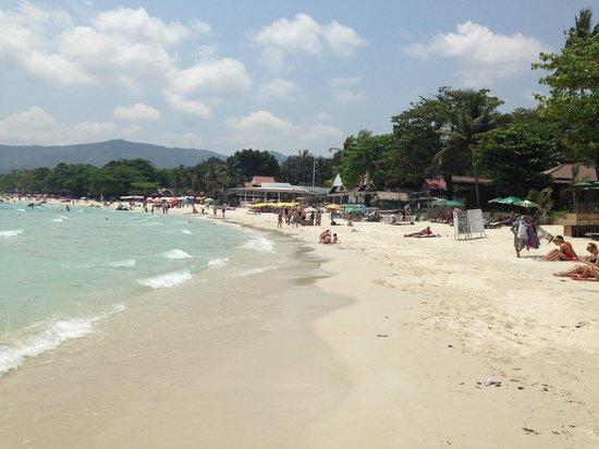 Baan Chaweng Beach Resort & Spa: plage de chaweng