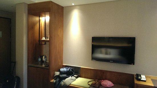 Green World Hotel Jian Pei Suites: Quarto