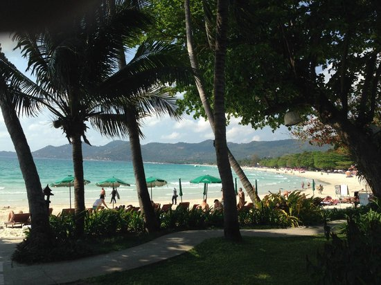 Baan Chaweng Beach Resort & Spa: vue plage