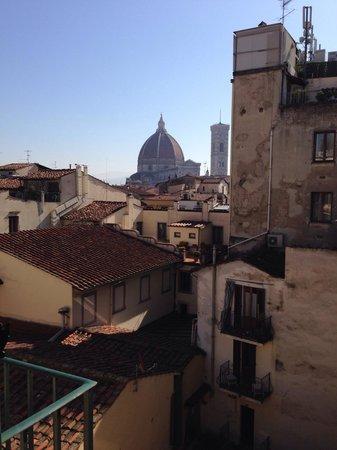 Grand Hotel Baglioni Firenze : Vista camera