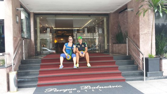 Parque Balneario Hotel: Last day 17 03 2014